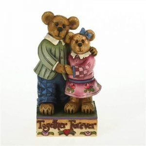 Boyds bear collection mother and father bear mr mrs luvington figurine