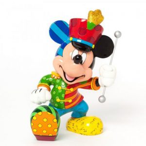 Disney britto band leader mickey mouse large figurine b